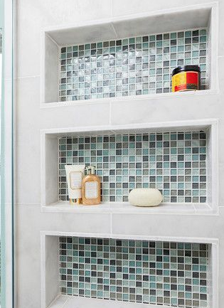 The Backsplash Is The Statement Piece Of The Room. It S Paired With A Light Colored photo - 5