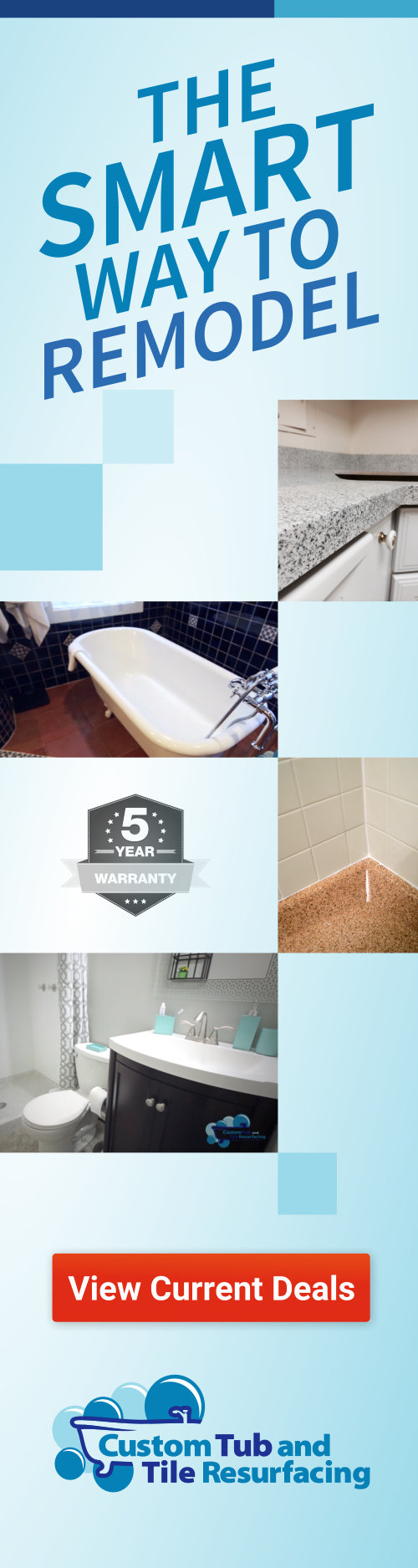 What Chemicals Are Used in Bathtub Refinishing?  Custom Tub and